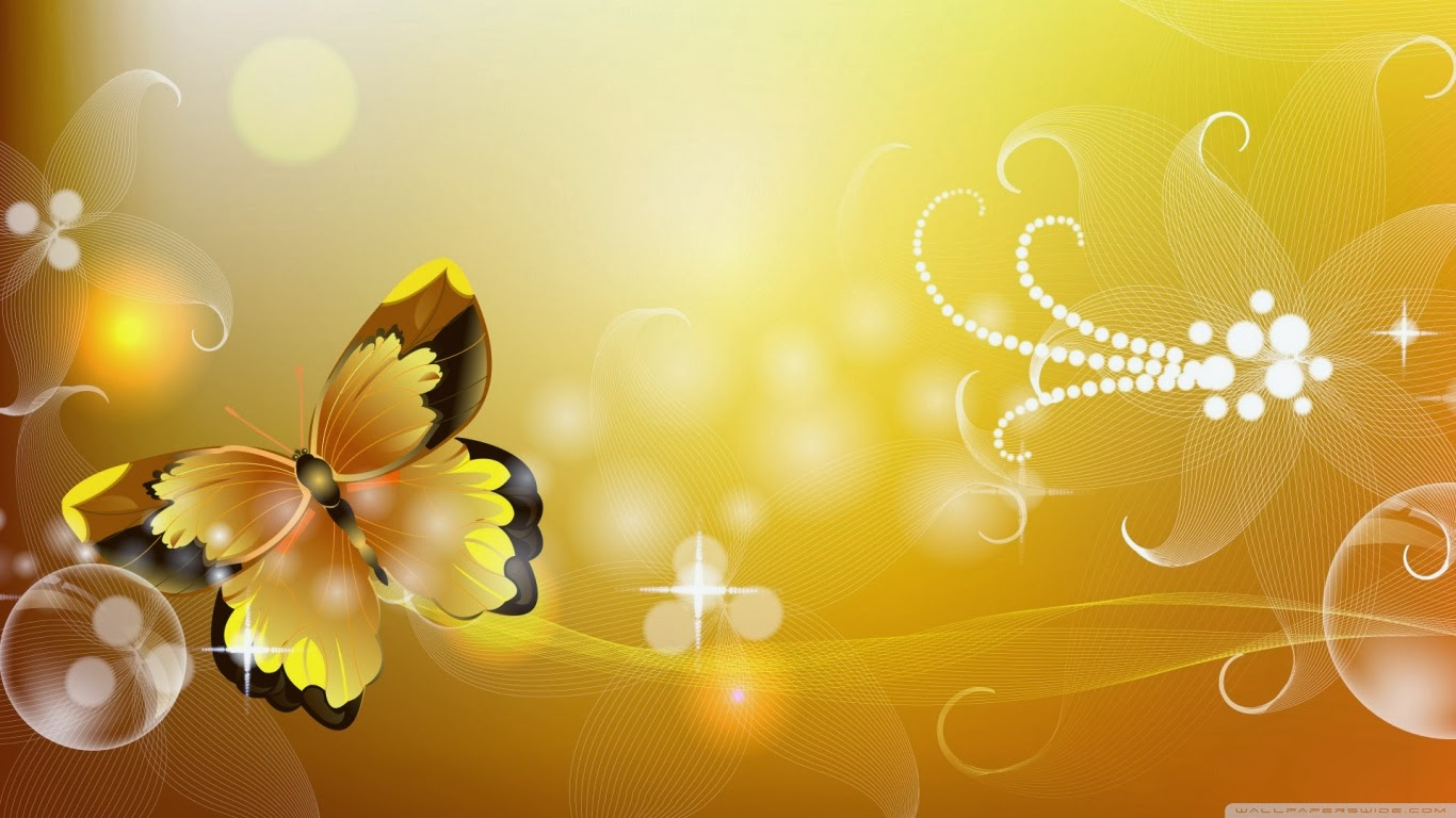 Yellow butterfly wallpaper beautiful desktop wallpapers 2014 for M wallpaper 3d