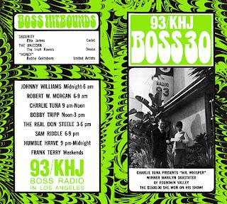 KHJ Boss 30 No. 141 - Charlie Tuna