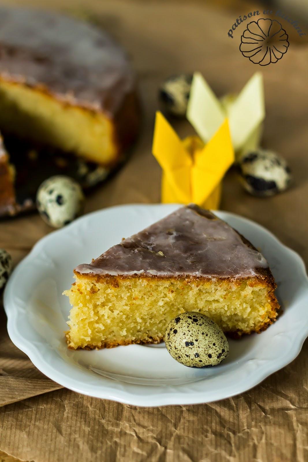 Semolina and yogurt - Lemon syrup cake