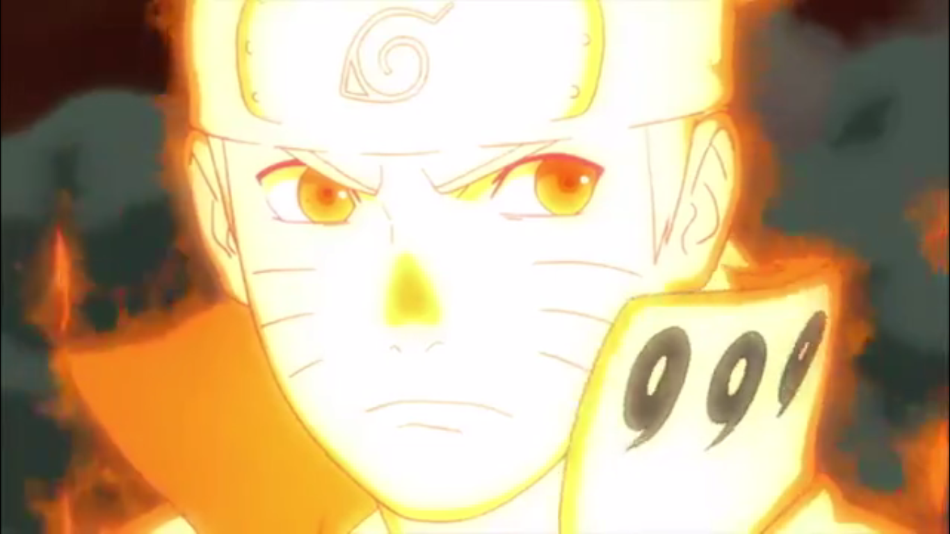 Naruto in Nine tails form