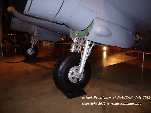Beaufighter main landing gear photo