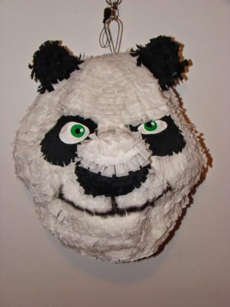 Piñatas de Kung Fu Panda