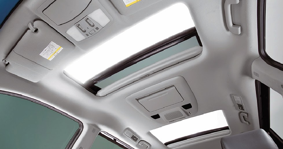 SUNROOF DI INTERIOR NISSAN ELGRAND