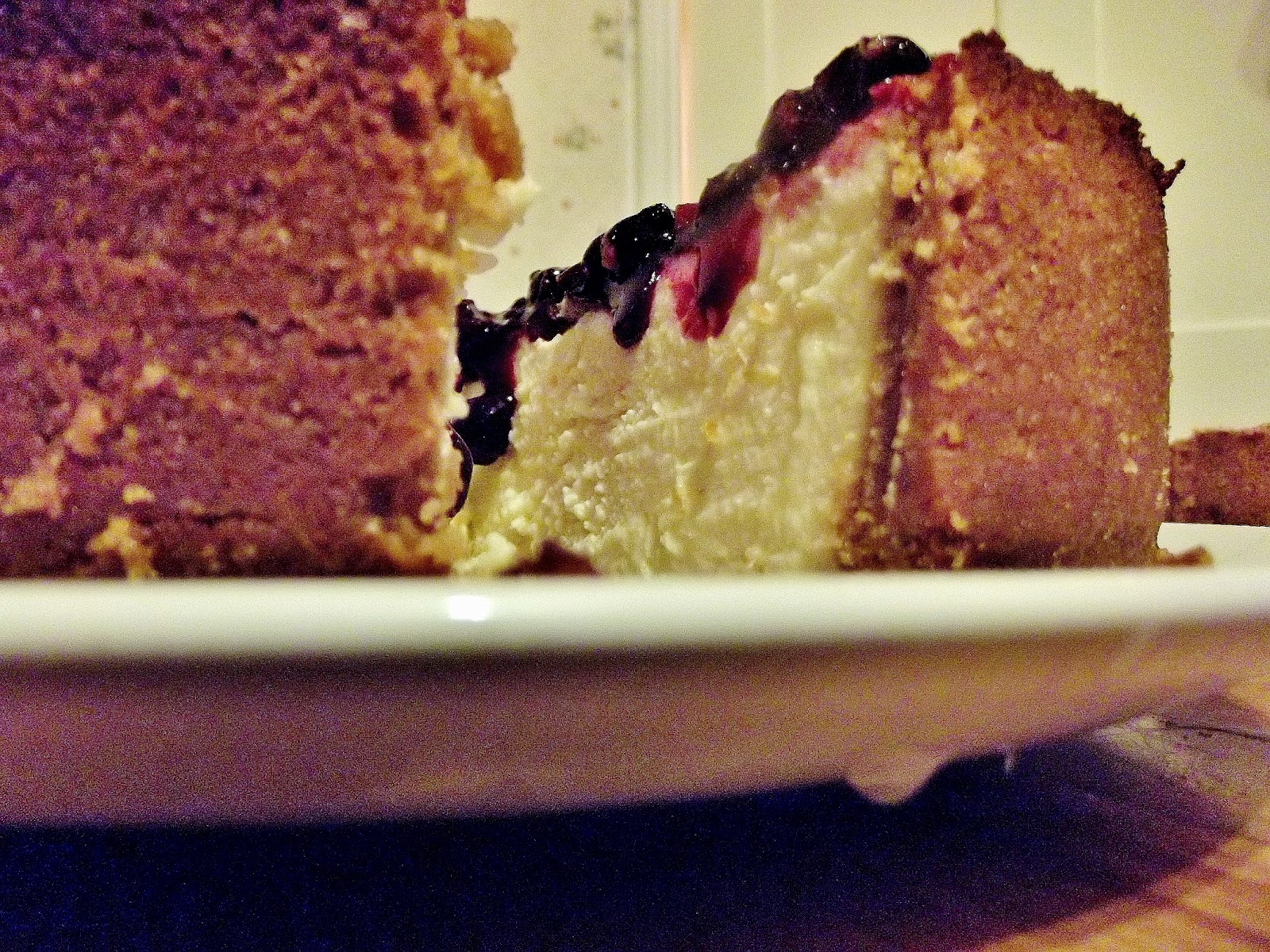 Blackcurrant cake: tasty and fast 19
