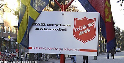 Kalla Fakta, Frälsnings armén, Frälsningsarmén, Being gay is a sin, Håll grytan kokande, TV4, Swedish Salvation Army