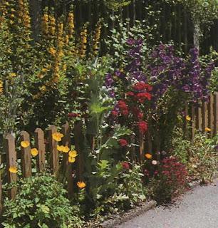 Деревянный забор. Фото 102