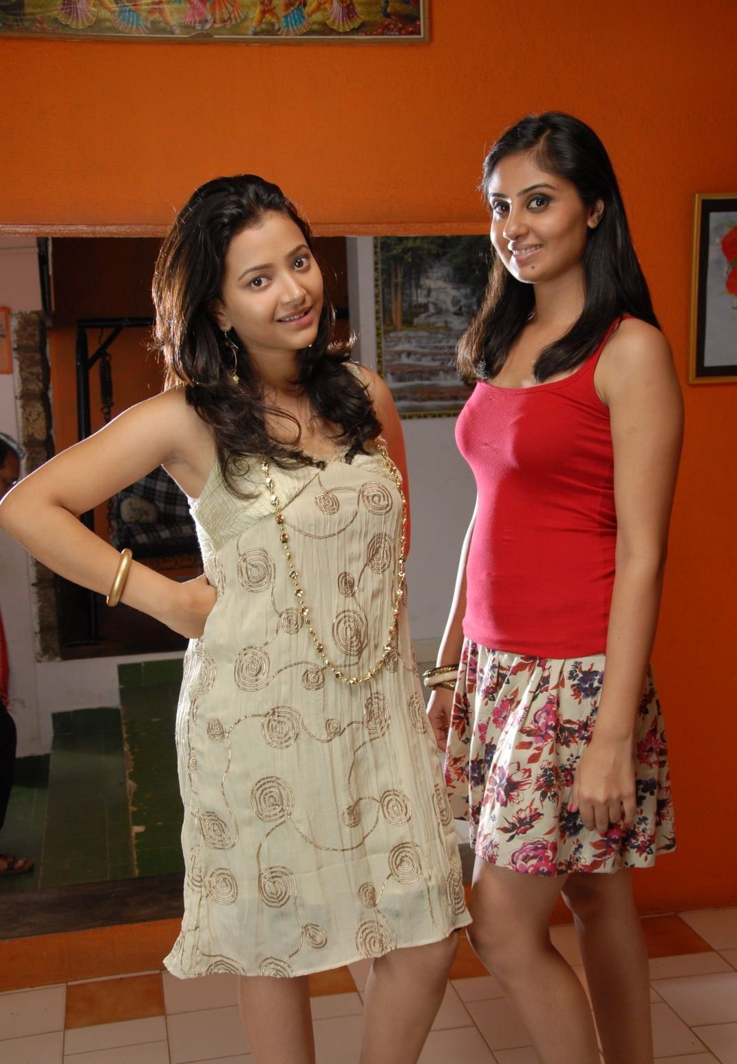 Swetha Basu And Bhanu Mehra In Ding Dong Bell Movie