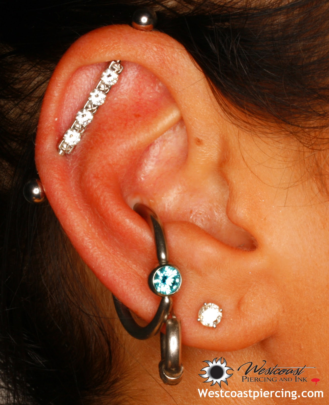 how to clean your ear piercing no alcohol