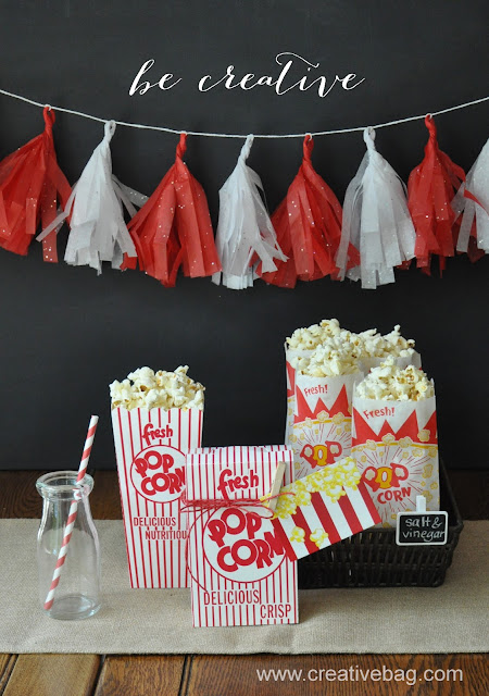 popcorn packaging products at Creative Bag