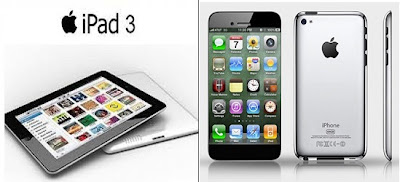 Rumour about iPad 3 & iPhone 5 release date & Specs