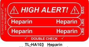 Obat-obatan yang Perlu Mendapat Perhatian Tinggi / High-Alert Medications