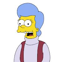 Mona Simpson, Los Simpson, madre de homer