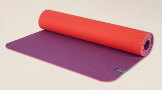 STyle Athletics Yoga Mat Fun E.C.O. Prana Red Purple