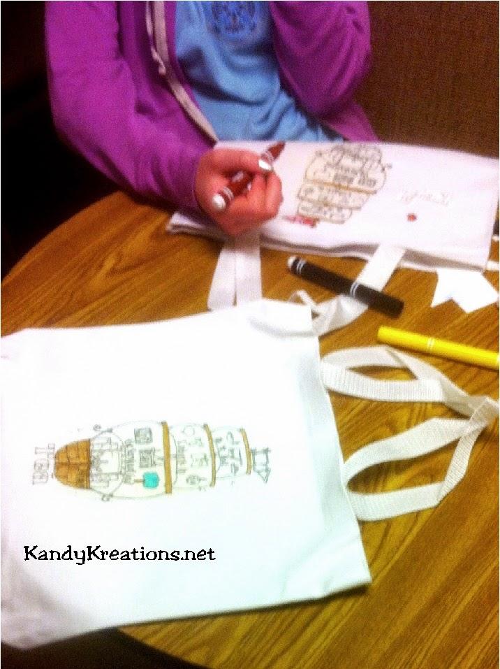 Embark in the Service of God Scripture Bag DIY