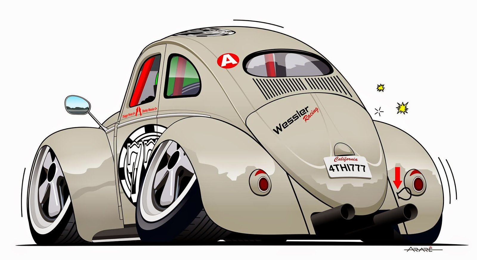 Excepcional The racing bugler! Blog do Lacombe: Espetáculo de carro, artista  LU77