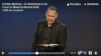 Cristian Barbosu 🔴 Cu Dumnezeu în adâncuri