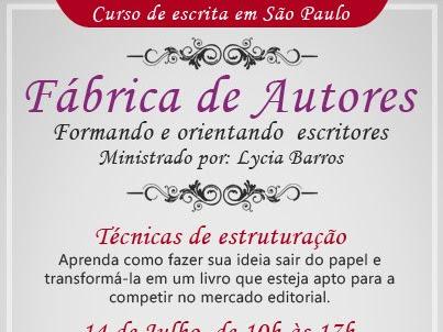 Curso de Escrita da Lycia Barros em São Paulo