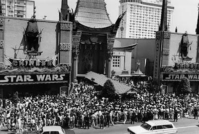 Estreno de Star Wars, 1977