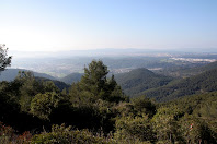 La plana vallesana des de la Serra LLisa