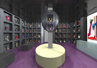 Interior design shoe shop project for Interior design for shoes shop