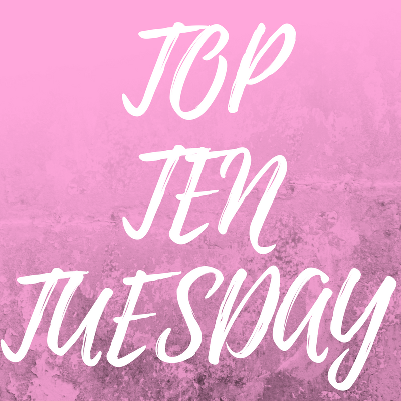 TOP 10 BOOKS IN MY SPRING TBR