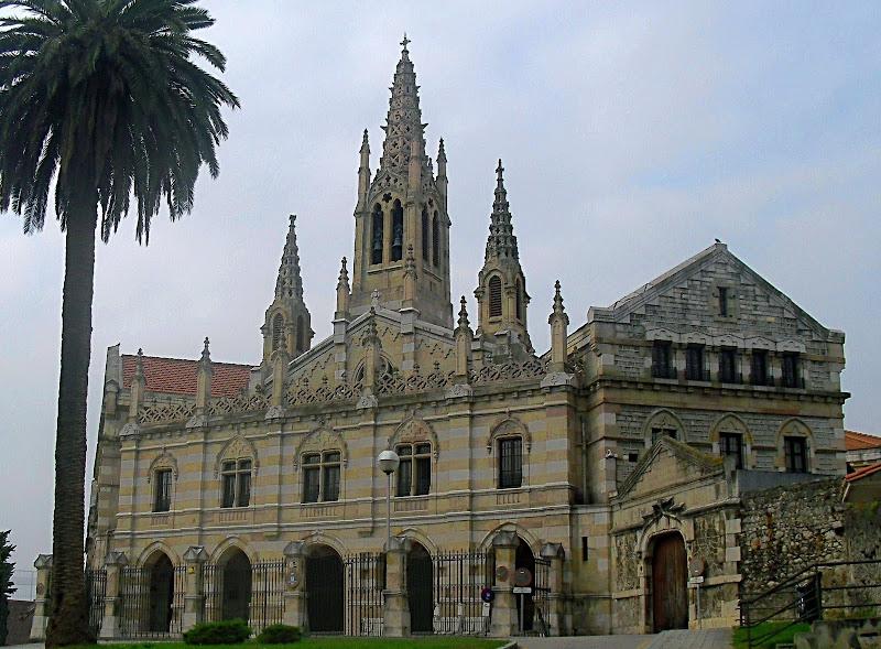 Iglesia de las Salesas Reales en Santander