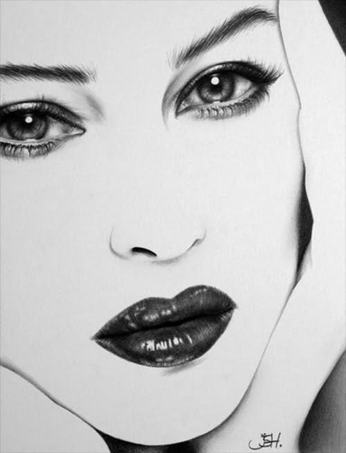 09-Artist-Ileana-Hunter-Minimalist-Hyper-Realistic-Portraits-www-designstack-co