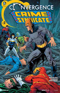 Cover of Convergence: Crime Syndicate #2 from DC Comics