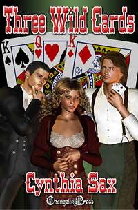Three Wild Cards by Cynthia Sax