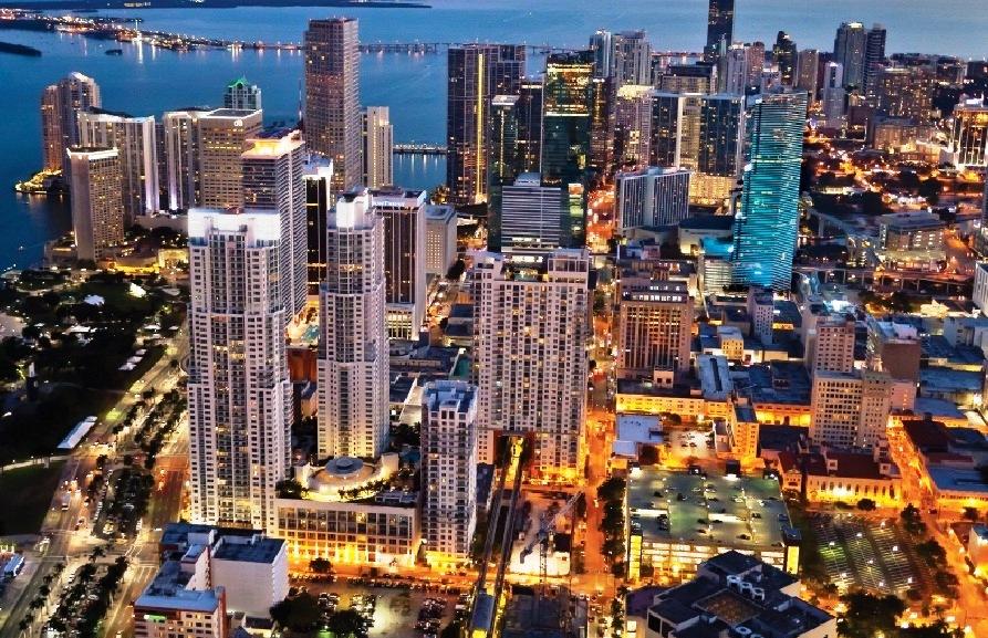Metro Em Miami Beach Para Downtown