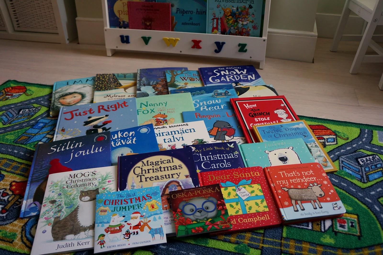 Book Advent Calendar Ideas : How to do a christmas book advent calendar wave mummy
