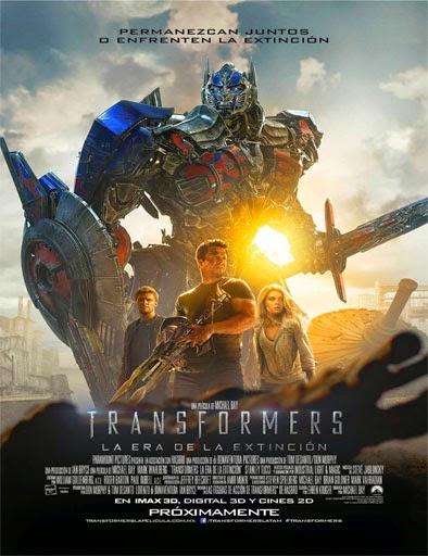 Transformers 4: La era de la extinción (2014) [Latino] [Cam]