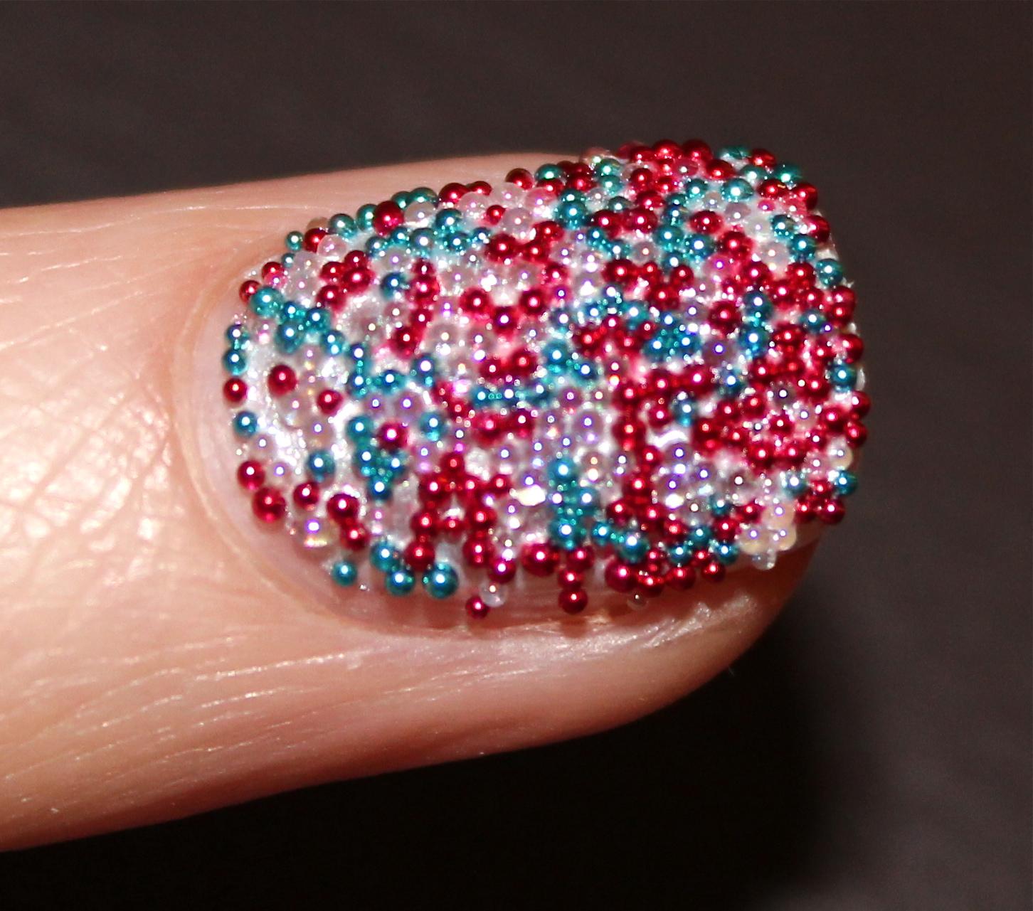 Ciate Caviar Pearls: Ciate Jubilee Caviar Manicure