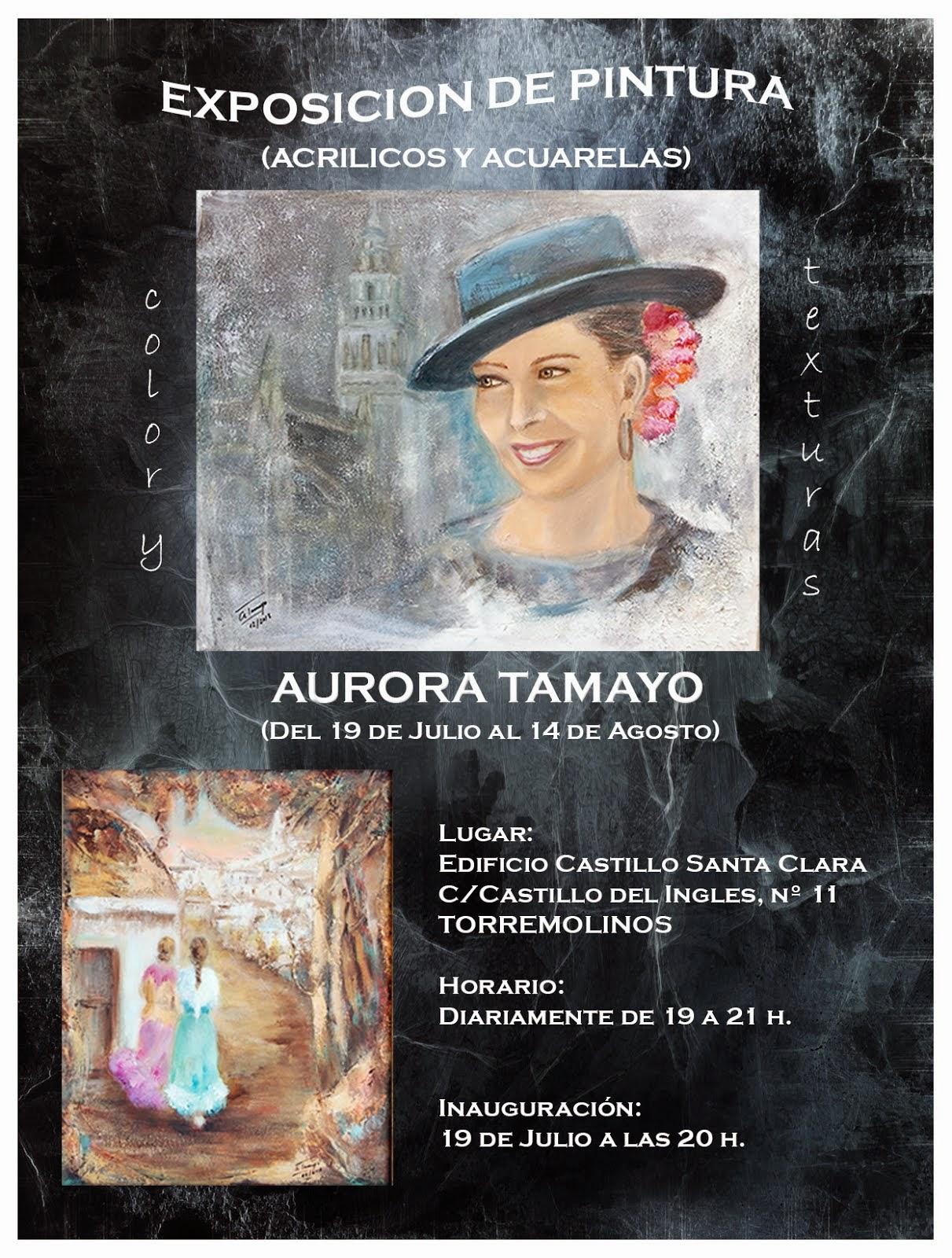 EXPOSICION DE PINTURA (del 19-7 al 14-8-2014