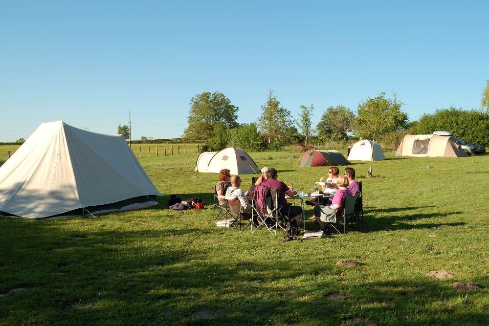 helft aanbetalen camping normaal