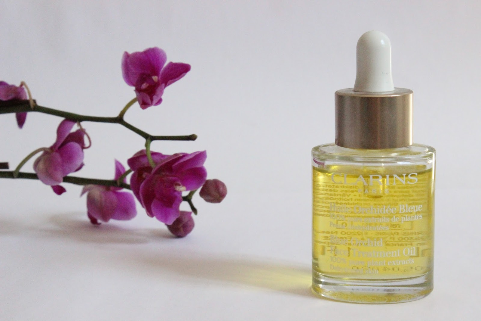 Clarins Blue Orchid Face Treatment Oil