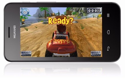 Tampilan game di Huawei Ascend Y320