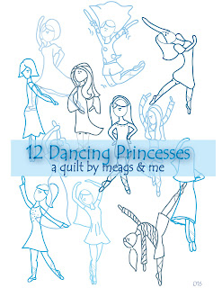 meags and me 12 Dancing Princesses Quilt Pattern