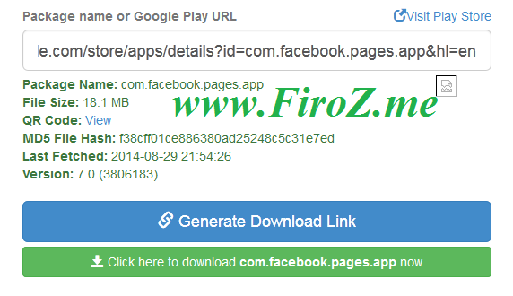 Download Playstore apps