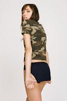 Cora Keegan poses for MeUndies Campaign 2015