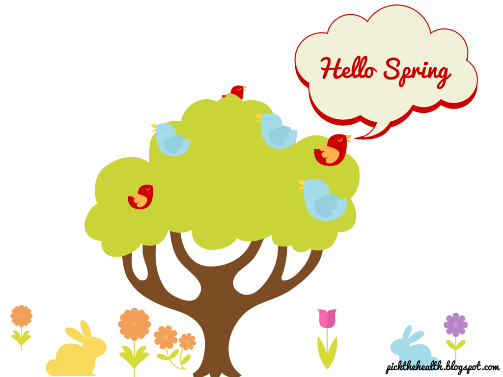 It is Spring. Take care about your skin