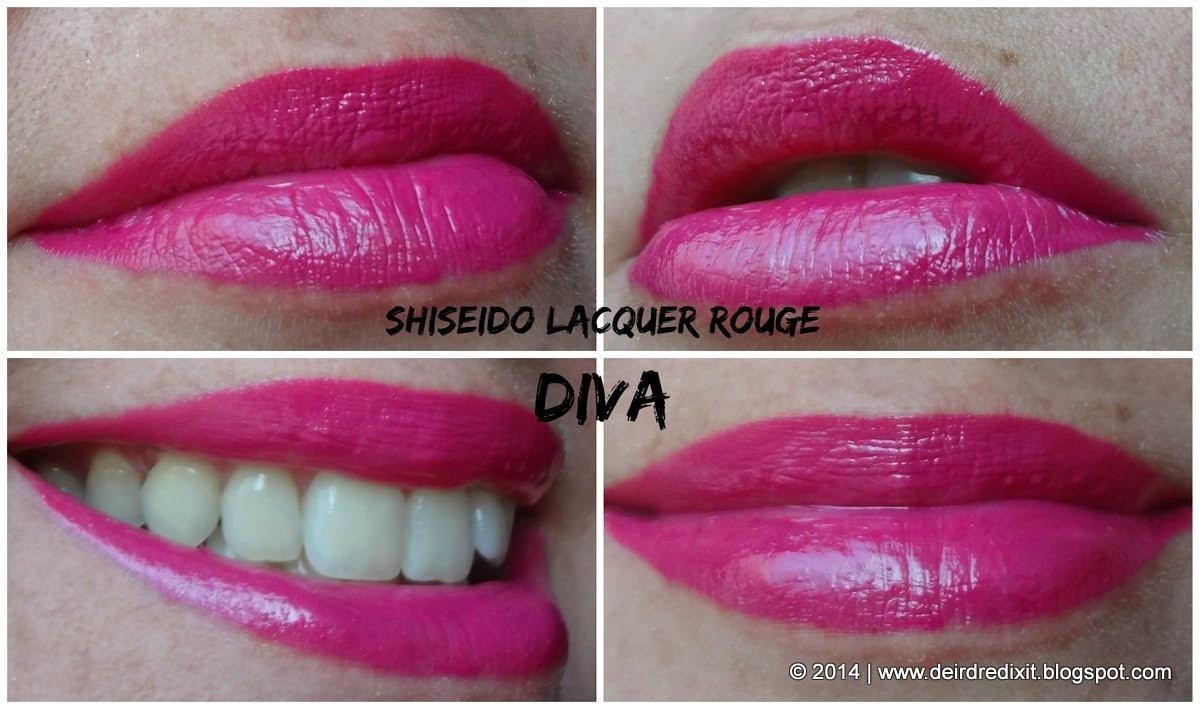 Shiseido Lacquer Rouge VI 418 in Diva