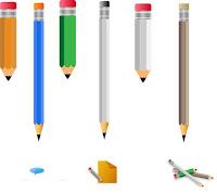 Lápis vetorizado