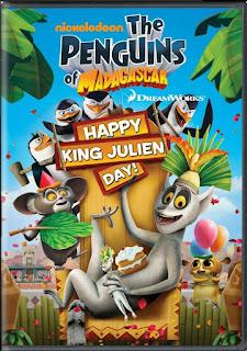 The Penguins Of Madagascar Happy King Julien Day