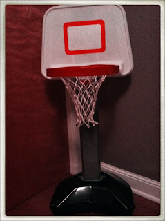 toy basketball goal