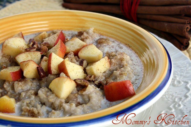 Oatmeal In The Crock Pot Recipe — Dishmaps
