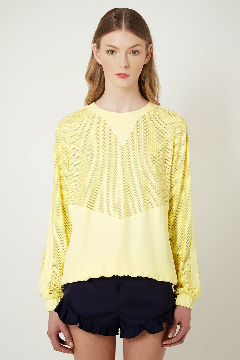 yellow jumper topshop