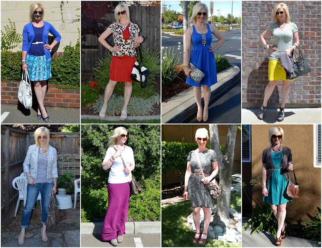 Creating a easy summer wardrobe