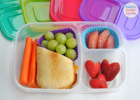 Lunch for Mum in EasyLunchboxes Brights