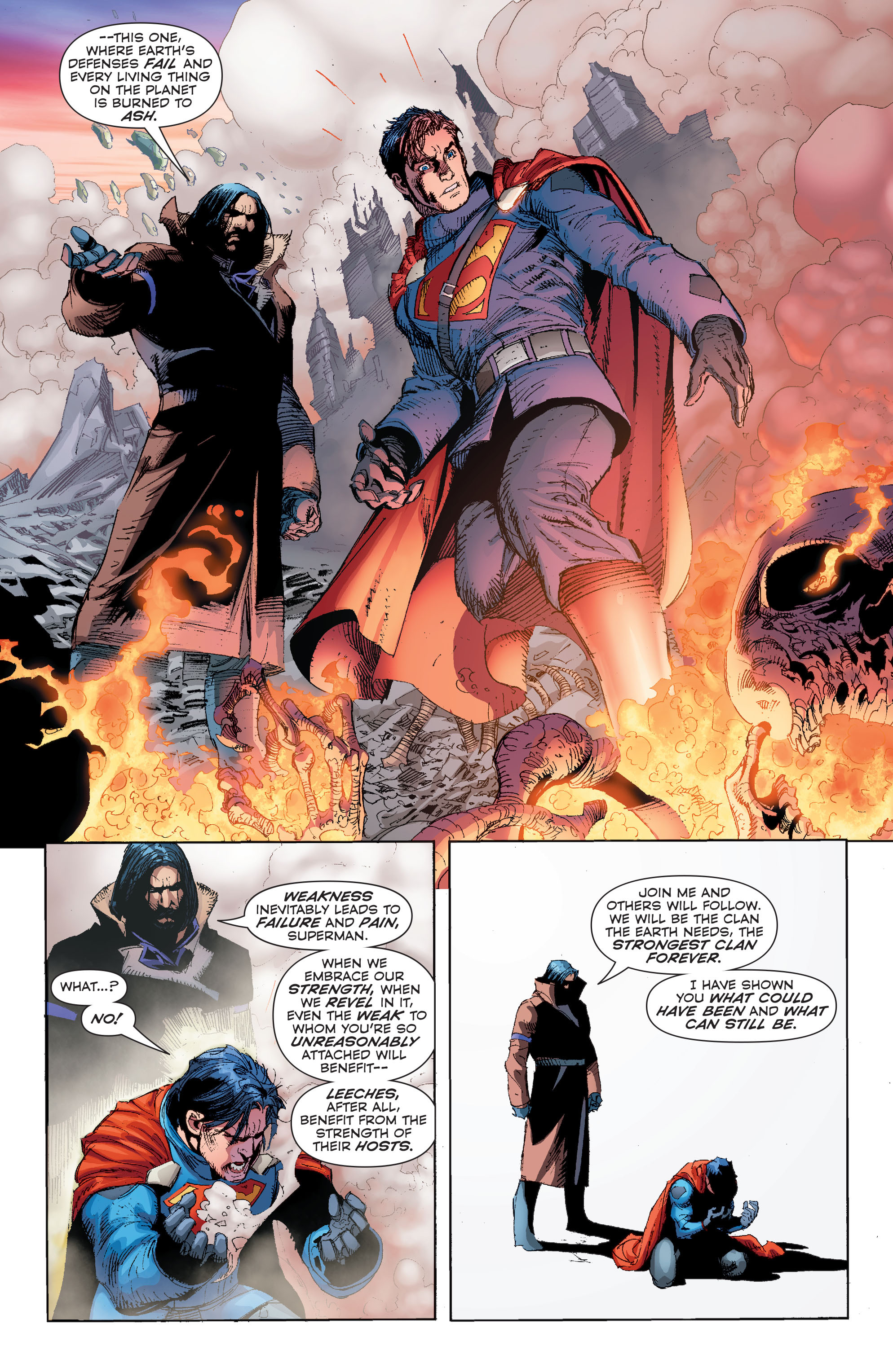 Read online Superman (2011) comic -  Issue #50 - 28